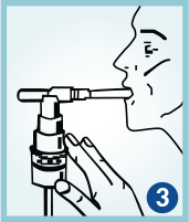 How to use PERFOROMIST® (formoterol fumarate) step 3